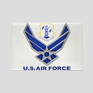 Air National Guard Rectangle Magnet