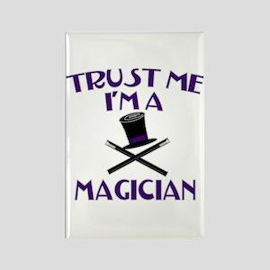 Trust Me I'm a Magician Rectangle Magnet