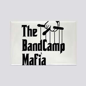 Band Camp Mafia Rectangle Magnet