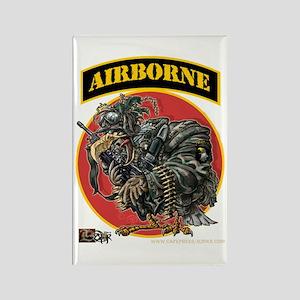 101 Airborne Eagle Rectangle Magnet