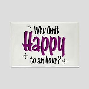 Limit Happy Hour? Rectangle Magnet