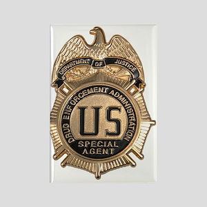 dea badge Rectangle Magnet
