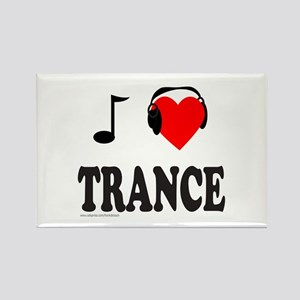 TRANCE MUSIC Rectangle Magnet