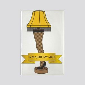 A Major Award Ribbon Rectangle Magnet