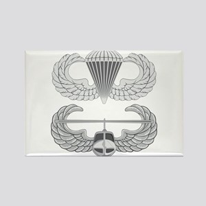 Airborne and Air Assault Rectangle Magnet
