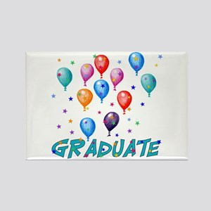 Graduation Balloons Rectangle Magnet