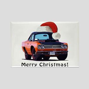 BabyAmericanMuscleCar_69_RoadR_Orange Magnets