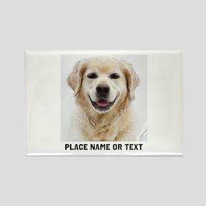 Dog Photo Customized Rectangle Magnet