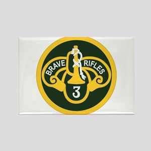 3rd Armored Cavalry Rectangle Magnet