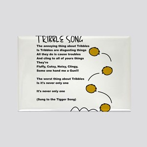 Tribble Song Rectangle Magnet