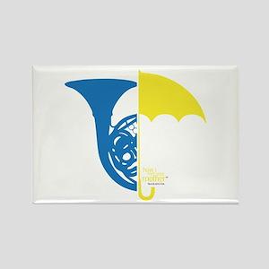 HIMYM French Umbrella Rectangle Magnet