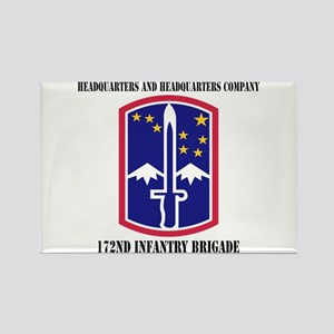 HHC - 172 Infantry Brigade with text Rectangle Mag