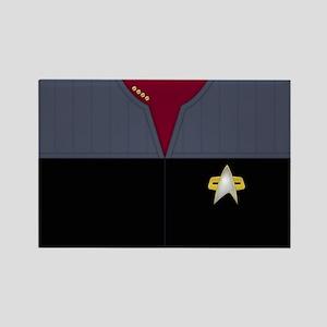 Star Trek: DS9 Captain Uniform Rectangle Magnet
