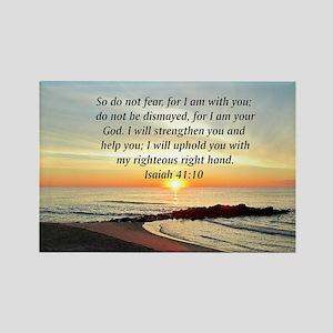 ISAIAH 41:10 Rectangle Magnet