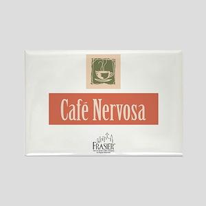 Frasier: Cafe Nervosa Rectangle Magnet