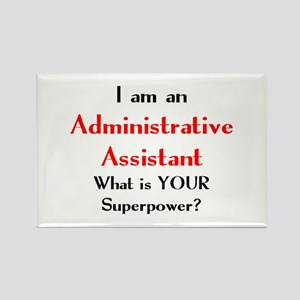 administrative assistant Rectangle Magnet