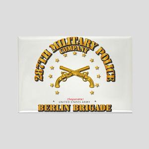 287th MP Company - Berlin Brigade Rectangle Magnet