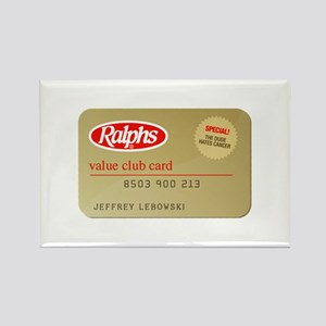 Ralphs Value Club Card - Rectangle Magnet
