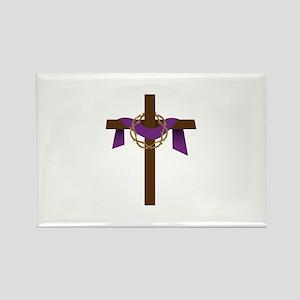 Season Of Lent Cross Magnets