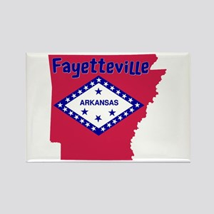 Fayetteville Rectangle Magnet