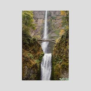 Multnomah Falls Oregon Rectangle Magnet