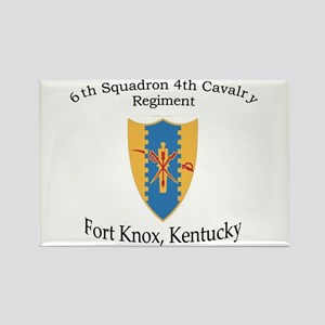 6th Squadron 4th Cavalry Rectangle Magnet
