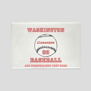 Baseball Personalized Magnets