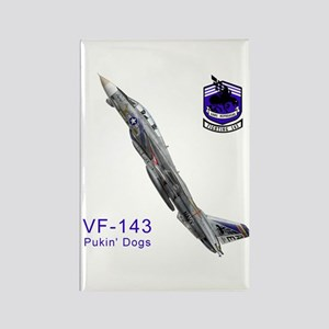 VF-143 Pukin' Dogs Rectangle Magnet