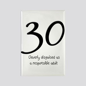 30th Birthday Rectangle Magnet