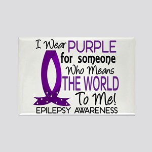 Means World To Me 1 Epilepsy Shirts Rectangle Magn