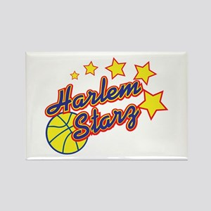 The Harlem Starz Rectangle Magnet