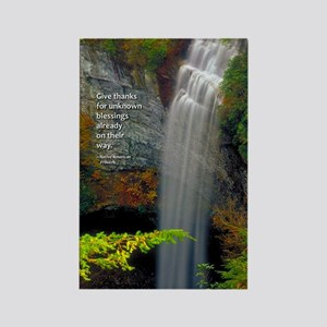 Waterfall Blessings Rectangle Magnet