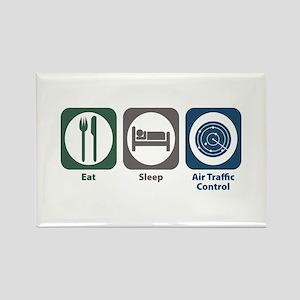 Eat Sleep Air Traffic Control Rectangle Magnet
