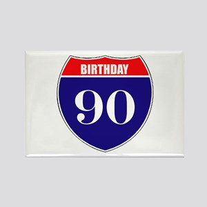 90th Birthday! Rectangle Magnet