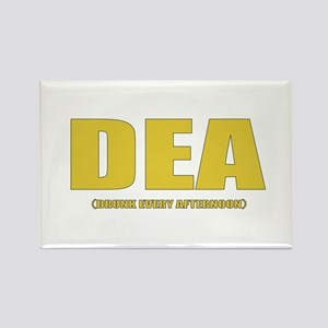 DEA (Drunk Every Afternoon) Rectangle Magnet