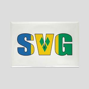 SVG Rectangle Magnet