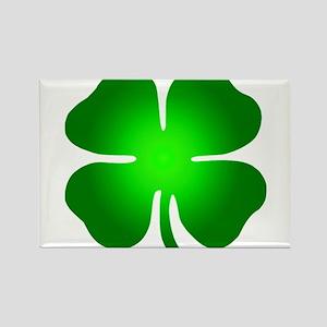 Four Leaf Clover Rectangle Magnet