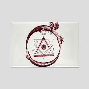 Alchemical Ouroboros Magnets