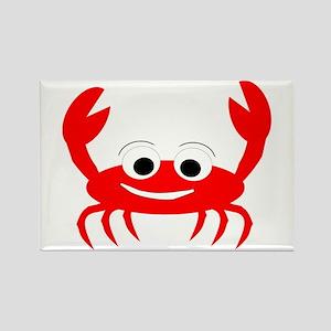 Crab Design Rectangle Magnet