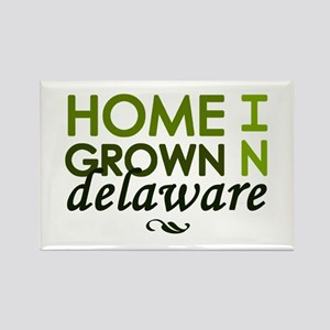 'Home Grown In Delaware' Rectangle Magnet