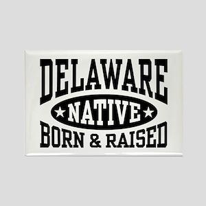 Delaware Native Rectangle Magnet