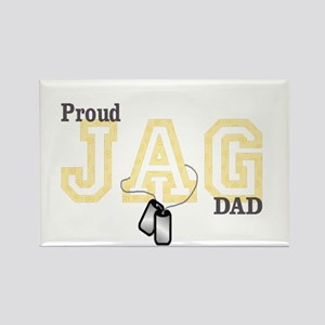 proud jag dad Rectangle Magnet