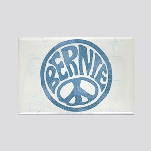 60s Peace Bernie Magnets
