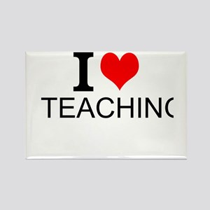 I Love Teaching Magnets