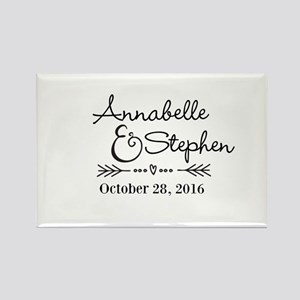 Couples Names Wedding Personalized Magnets