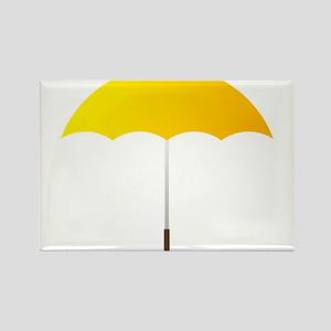 Yellow Umbrella Magnets
