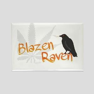 Blazin Raven Magnets