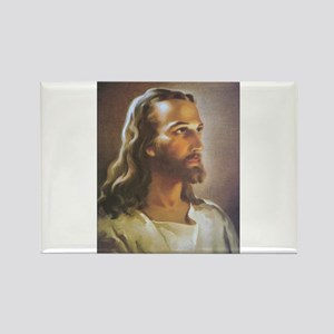 Portrait of Jesus Rectangle Magnet