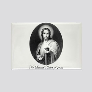 The Sacred Heart of Jesus Rectangle Magnet