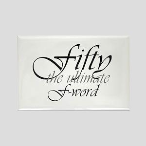 50th birthday f-word Magnets